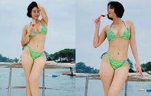 """Ai chơi lại Thu Minh: U50 vẫn rất chăm diện bikini, khoe body """"bốc lửa"""" vòng nào ra vòng nấy"""