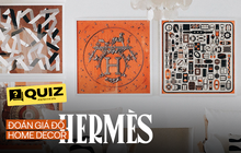 """Đoán giá đồ home decor đắt đỏ của Hermès: Đoán đúng hết mà không """"sảng"""" thì bạn quả là am tường"""