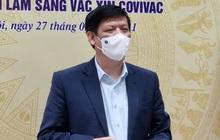 """Bộ trưởng Bộ Y tế: Hiệu lực bảo vệ của vaccine phòng Covid-19 """"made in Vietnam"""" rất tốt"""