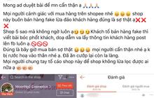 """Kỳ công bóc phốt shop mỹ phẩm uy tín bán hàng fake, chủ thớt lại bị netizen """"ném đá"""" ngược đau điếng"""