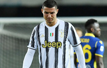 """Juventus bị cầm hòa dù Ronaldo tiếp tục """"nổ súng"""""""