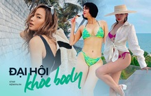 """""""Đại chiến"""" bikini 3 thế hệ 7x - 8x - 9x: Thu Minh cực bốc có chịu lép vế trước 2 chị em trendy Tóc Tiên - Châu Bùi?"""
