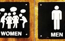 """Những biển toilet siêu buồn cười """"thấy một lần là nhớ cả đời"""", đúng là óc sáng tạo và hài hước của con người là bất tận!"""