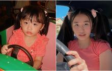 """Jenny Huỳnh cosplay chính mình hồi nhỏ, không ngại mặc đồ trẻ con lẫn áo bà ngoại nên """"quá là xinh"""""""