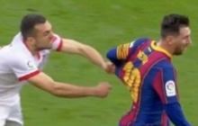 """Messi biến cầu thủ của Sevilla thành """"trò hề"""" trên sân bóng"""