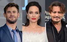 """Tranh cãi chuyện tình của Angelina Jolie hậu ly hôn: Hẹn hò đồng tính, bị nghi là Tuesday phá hoại gia đình """"Thor"""" và Johnny Depp?"""