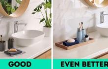 """Thêm 7 món đồ """"nhỏ mà có võ"""" giúp nâng cấp nhà tắm của bạn lên 1 level mới sang chảnh hơn hẳn"""