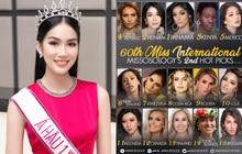 """Vừa nói tiếng Anh như """"bắn rap"""", Á hậu Phương Anh được Missosology dự đoán luôn vị trí cao bất ngờ tại Miss International"""
