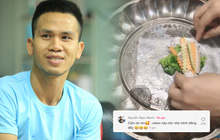 """Anh Nguyễn Ngọc Mạnh hài hước khoe nhà có """"nóc"""", cư dân mạng lập tức phát hiện chị vợ rất đam mê ăn uống và nấu nướng"""