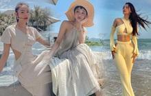 Váy áo bình dân đến đắt đỏ của sao Việt: Minh Hằng nhẹ nhàng với váy 600k, Hiền Hồ diện cây đồ local brand gần 20 triệu