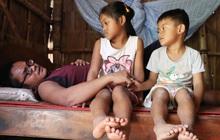 """Cha bị tai nạn giao thông, cả gia đình với 3 đứa trẻ rơi vào cùng cực: """"Chỉ sợ mình không đủ tiền cho các con học tiếp"""""""