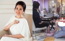 Hoa hậu Phương Lê được tặng 6 tỷ vì giảm 6kg: Chơi hàng hiệu khét tiếng, quỳ gối rửa chân cho chồng