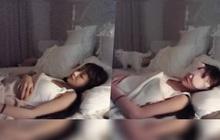 Chỉ cần nhắm mắt và ngủ, nữ streamer xinh đẹp bỗng trở thành hiện tượng mạng sau một đêm