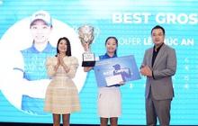 13 tuổi bạn ở nhà làm bài tập, cô bé Việt làm 69 gậy vô địch luôn giải golf
