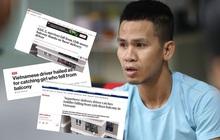 """Thêm hàng loạt tờ báo lớn tại Mỹ, Nga, Hàn Quốc gọi anh Nguyễn Ngọc Mạnh là """"siêu anh hùng"""" đời thực khi cứu sống bé gái 3 tuổi"""