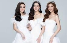 """Miss World VN 2021 trở lại: Lương Thuỳ Linh khoe chân dài 1m22 bên 2 Á hậu, BTC chấp nhận thí sinh """"dao kéo"""""""
