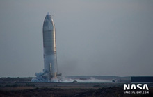 Tưởng hạ cánh thành công, tàu vũ trụ SpaceX lại đột ngột nổ tung