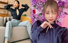 """2 thái cực khi diện áo hở bạo: Jennie che đậy để tránh """"hớ hênh"""" trong khi Solar (MAMAMOO) khoe body """"ná thở"""""""