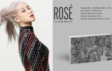 """Đã có thể """"chốt đơn"""" album solo của Rosé (BLACKPINK): Màu đen - trắng chủ đạo do chính chủ thiết kế, có cả bản đĩa than xịn xò!"""