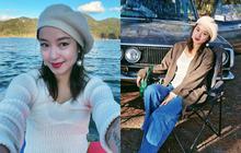 """Xuýt xoa không thôi với loạt ảnh du lịch cực """"chill"""" của Mi Vân: Style đơn giản nhưng nhan sắc mẹ bỉm vẫn đỉnh quá!"""