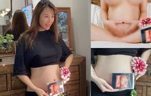 """""""Xịt máu mũi"""" ảnh bầu 5 tháng của Quế Vân: Nude 100% khoe vòng 2 lớn thấy rõ, còn để lộ gần hết """"bộ loa"""""""
