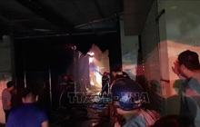 Điện Biên: Cháy lớn thiêu rụi nhiều ki ốt ở Chợ Noong Bua