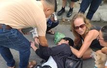2 nữ du khách nước ngoài cứu giúp nam sinh viên bị tai nạn ở Đà Nẵng