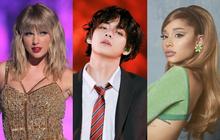 """BTS tiễn Taylor Swift, Ariana Grande và dàn sao USUK """"ra chuồng gà"""", là nghệ sĩ tiêu thụ nhạc khủng nhất hành tinh năm 2020!"""