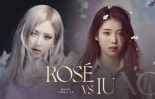 """IU và Rosé (BLACKPINK) không hẹn mà đối đầu trong tháng 3, ai sẽ là người thắng thế ở """"cuộc chiến"""" solo mảng nữ?"""