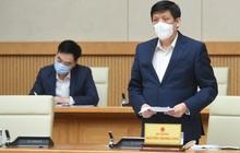 Bộ trưởng Bộ Y tế: Dự kiến ngày 8/3 sẽ tiêm vaccine phòng Covid-19 mũi đầu tiên