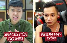 TikToker Tôm La Cà review shop ăn vặt của Độ Mixi như thế nào mà khiến dân mạng nháo nhào?