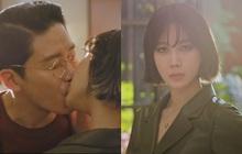 """Chị đẹp Lee Ji Ah tái xuất, làm """"bad girl váy ngắn"""" cưỡng hôn Ju Dan Tae trong Penthouse 2"""