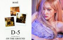 Giữa trưa Rosé (BLACKPINK) bất ngờ tung poster đếm ngược còn 5 ngày, hé lộ chi tiết bí ẩn trong MV solo