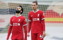 """Thua đội """"cầm đèn đỏ"""" trên sân nhà, Liverpool chìm sâu vào khủng hoảng"""