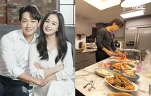 """Bi Rain lần đầu hé lộ căn bếp siêu sang của biệt thự trăm tỷ, trổ tài nấu cho Kim Tae Hee đúng chuẩn """"nghiện vợ"""""""