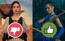 Triệu Lệ Dĩnh bị nhận xét thua xa khí chất H'Hen Niê khi làm công chúa Disney gốc Việt