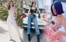 Sao Việt mặc gì ngày 8/3: Lệ Quyên sexy như gái 20, Amee diện crop-top khoe vòng eo không chút mỡ thừa