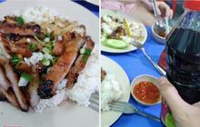 """Ăn cơm tấm theo cách """"ngược đời"""", chàng trai khiến dân mạng nhấn phẫn nộ hàng loạt: Ở Sài Gòn chúng tôi không làm thế!"""