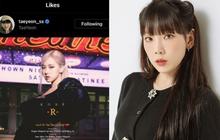 """Taeyeon (SNSD) bất ngờ """"thả tim"""" tracklist solo của Rosé (BLACKPINK), fan hai nhà chuẩn bị kết thân là vừa!"""