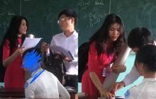 Cô giáo thực tập xinh như hot girl bị học sinh chụp lén, nhìn ảnh thường ngày tưởng hack tuổi vì trẻ quá