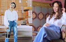 Minh Hằng đã sửa cách diện áo sơ mi trắng thế nào để có được bộ đồ xịn đẹp level max?