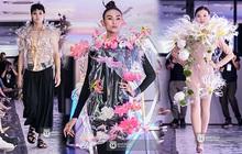 Võ Hoàng Yến gây choáng bởi đôi chân dài như... kiếm Nhật tại show thời trang triển lãm Plus by Bảo Nam