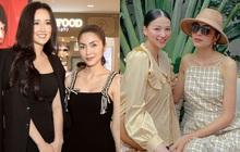 """Hà Tăng khi chung khung hình với dàn Hoa hậu: Dù makeup đậm hay nhạt cũng không """"ngán"""" bất cứ ai"""
