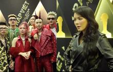 """Thảm đỏ Rap Việt Concert: Dế Choắt và dàn thí sinh Rap Việt đổ bộ, Lý Nhã Kỳ chuẩn đẳng cấp """"chị đẹp"""" sành điệu!"""
