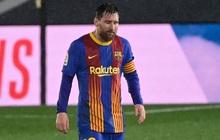 Messi thẫn thờ, nối dài chuỗi thất vọng kể từ ngày Ronaldo chia tay Siêu kinh điển