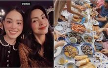Linh Rin dự tiệc cuối tuần ở biệt thự gia đình Hà Tăng, suất con dâu tỷ phú chắc tay quá luôn
