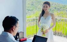 """Chi Bảo bất ngờ hé lộ hậu trường chụp ảnh cưới, nhưng thái độ lại bị vợ doanh nhân giàu có kém 16 tuổi tố """"chảnh""""?"""