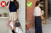 """4 món thời trang hack tuổi nàng 30+ tuyệt đối không nên mua vì diện lên trẻ quá hóa """"lố"""""""