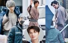 Lee Min Ho sao lại xuống sắc thế này: Tóc tai bù xù, mặt bê bết máu cùng thân hình phát tướng?