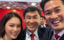 Linh Rin khoe ảnh với bố chồng tỷ phú tương lai: Quá nhiều nhan sắc và tiền bạc trong 1 bức ảnh!